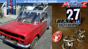 Project Cars #27: uma lista de compras e a receita mecânica do meu Fiat 147 Abarth Racing