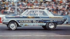 Ford Fairlane Thunderbolt: quando a Ford fez um carro de arrancada com motor da Nascar