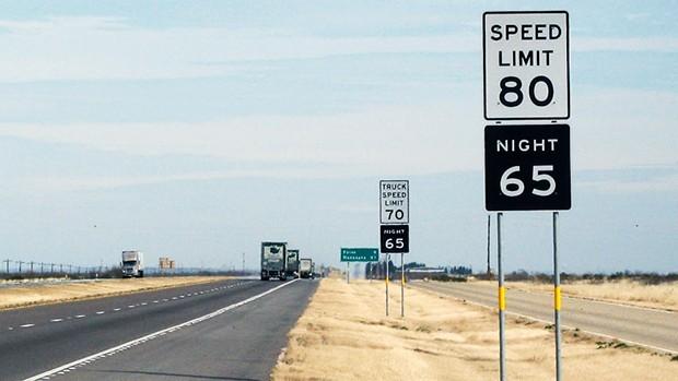 Aumento no limite de velocidade reduziu o número de acidentes em Utah, nos EUA