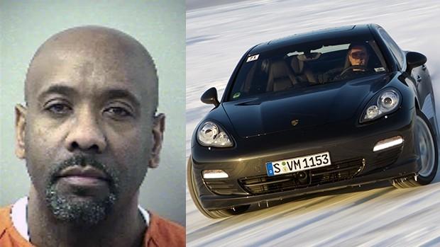 """Esse cara pegou 30 anos de cadeia por fazer um """"test drive"""" de 3.500 km e duas semanas em um Porsche Panamera"""