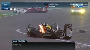 Acidente assustador de Mark Webber e vitória da Porsche marcam as 6 Horas de São Paulo