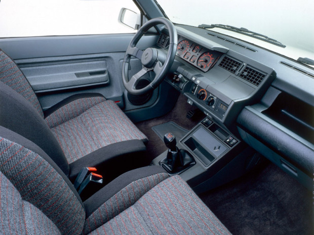 Super 5 GT Turbo - Interior