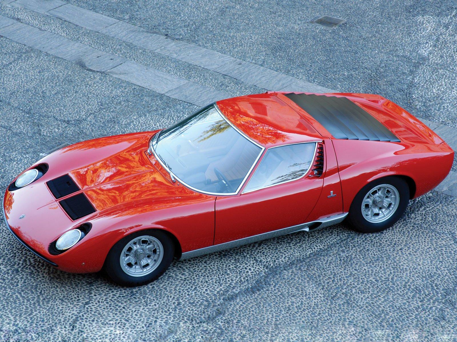 Este Rar 237 Ssimo E Bel 237 Ssimo Lamborghini Miura Svj 233 Um Dos Cinco Que Existem No Mundo E Ser 225