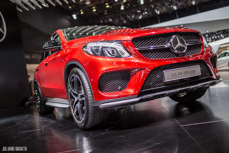 Mercedes Apresenta Os Novos Gle 63 Amg Coupe C450 Amg