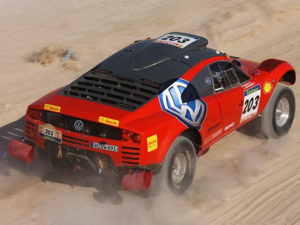 Paris-Dakar 2003 Eric Vargiolu