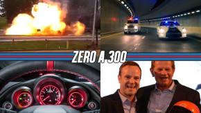 Carro com GNV explode em São Paulo, os supercarros da polícia de Dubai em vídeo, novas imagens do Civic Type R e mais!