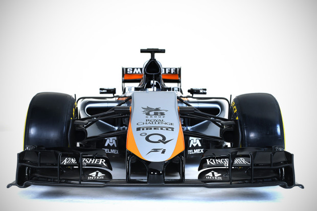Motor Racing - Sahara Force India F1 Team Livery Reveal -  Mexico City, Mexico