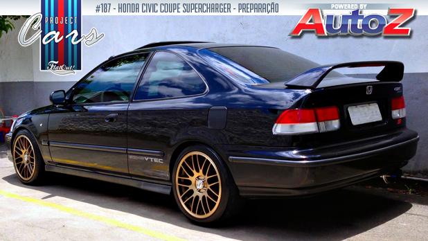 Project Cars #187: a história do meu Honda Civic Coupe ...