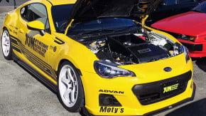 Um V8 de 367 cv a quase 11.000 rpm (!) é tudo o que o Subaru BRZ precisava