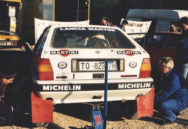 M. Alen Elba Prova Test Gomme Michelin 1989 - Sales - Colle Reciso