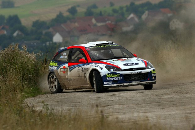 Colin McRae 2002-  Ford Focus - Action