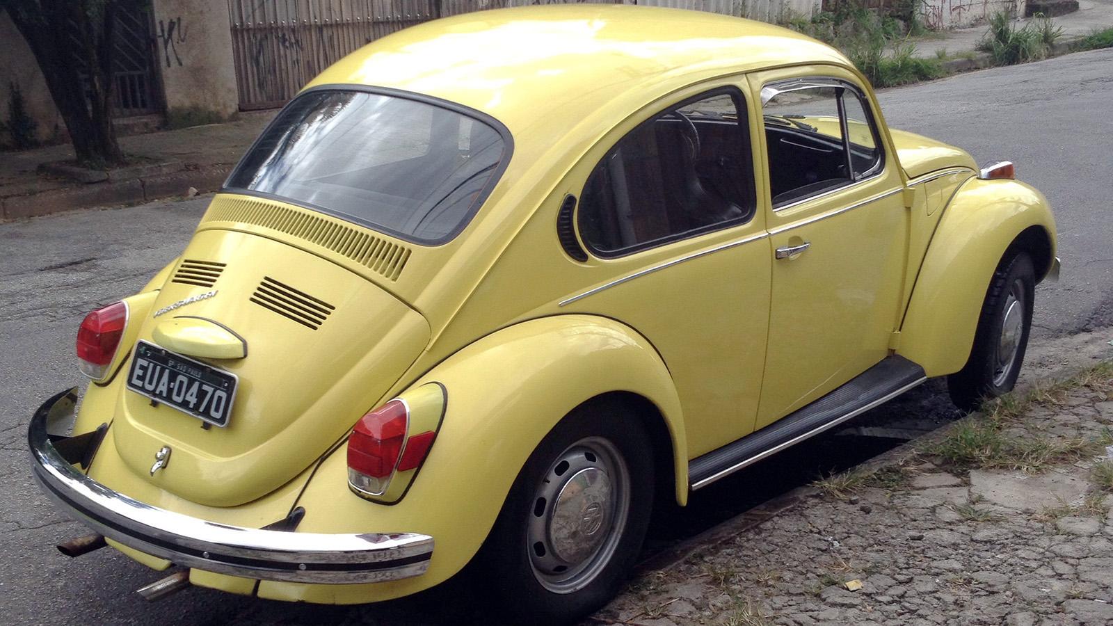Este N 227 O 233 Um Fusca Qualquer 233 Um Beetle Americano