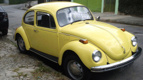 Este não é um Fusca qualquer – é um Beetle americano fabricado na Alemanha e à venda no Brasil