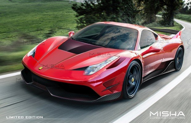 Ferrari-458-wide-body-kit-Misha-Designs-1