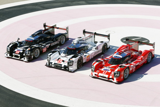 Porsche 919 Hybrid in 2015 Le Mans colors
