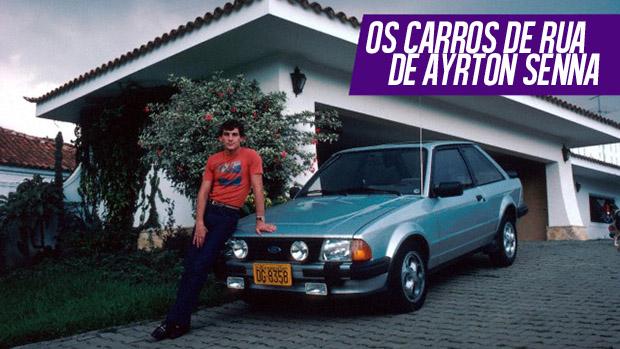 Ayrton Senna fora das pistas: os carros de rua do tricampeão