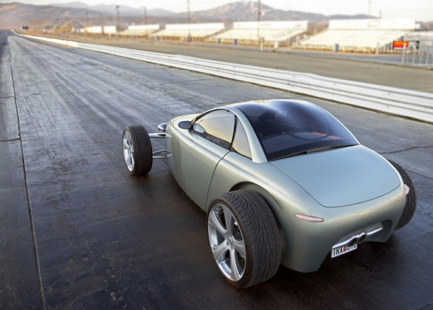 Volvo-T6-Roadster-Concept-Rear