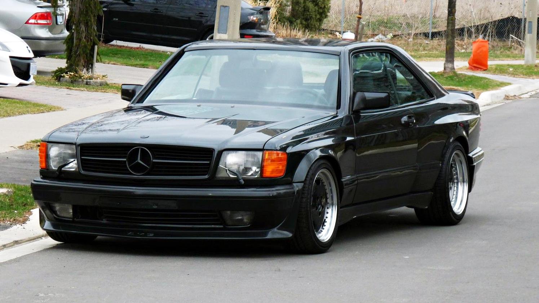 Mercedes 560sec amg 6 0 o precursor da receita dos black for Mercedes benz upholstery kits