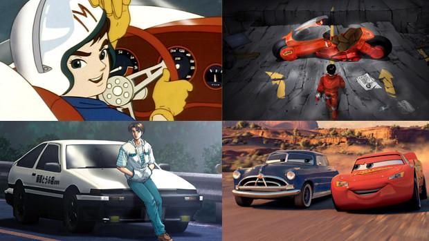os melhores desenhos animados com carros de todos os tempos parte