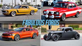 Fabulous Fords 2015: um encontro com mais de 1.800 Mustang, Galaxie, Falcons e Fords de todas as épocas