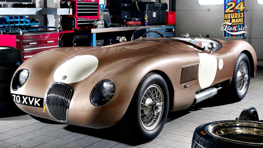 Lendas De Le Mans: Jaguar XK120C E C Type, Os Primeiros Felinos Britânicos