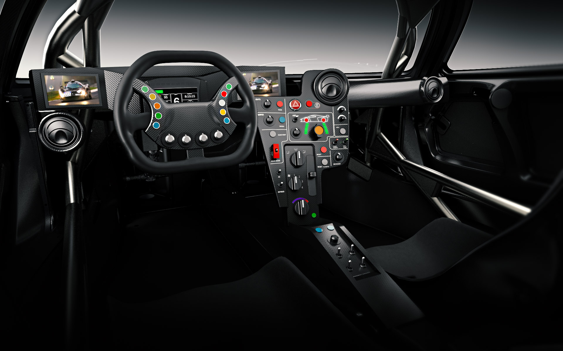 #B31D18  no interior do veículo para compensar a falta de um vidro traseiro 734 Janelas Vidro Inquebravel