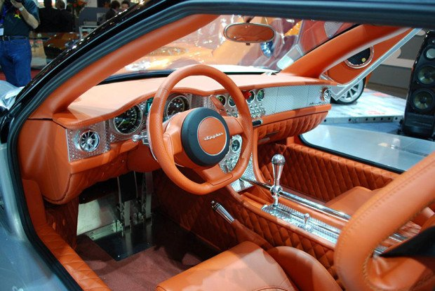 foto do interior do spyker 1