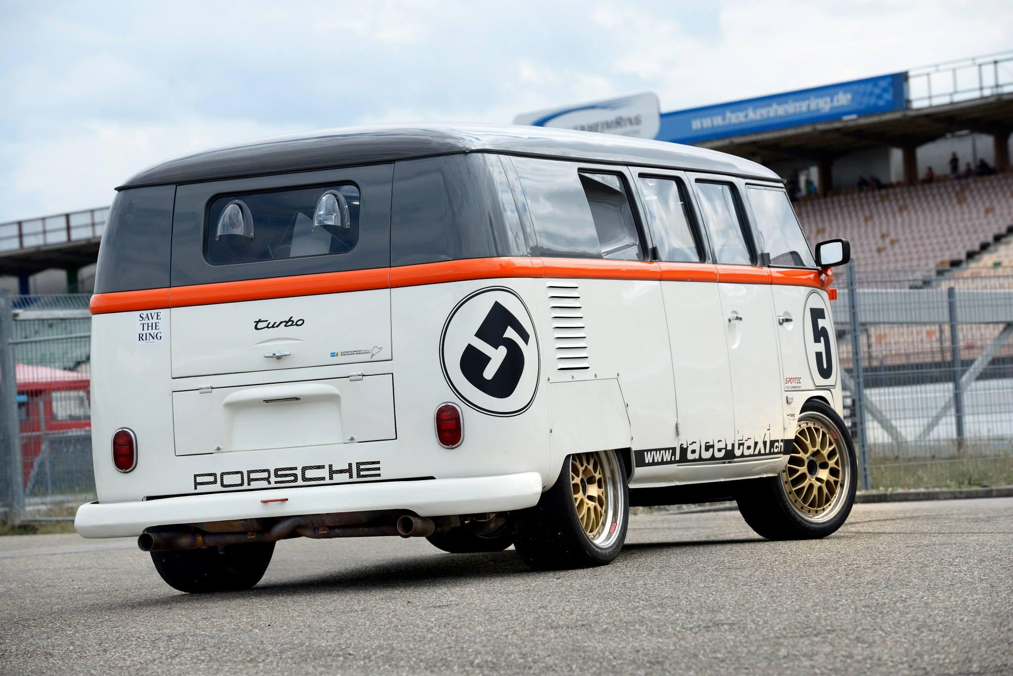 Isto 233 Uma Kombi Com Motor Biturbo De Porsche 911 993 Ou
