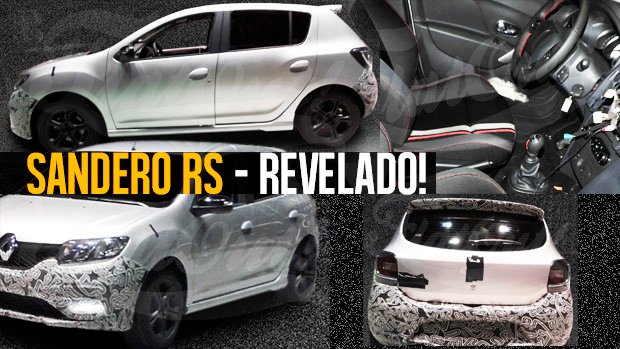 Renault Sandero RS 2.0 revelado! Veja todos os ângulos do novo hot hatch brasileiro