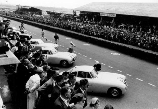 1952 Le Mans start