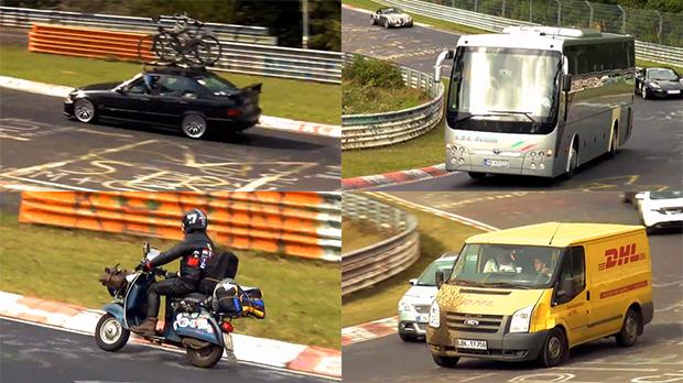 Bizarrices em Nürburgring: os veículos mais esquisitos já vistos no Inferno Verde