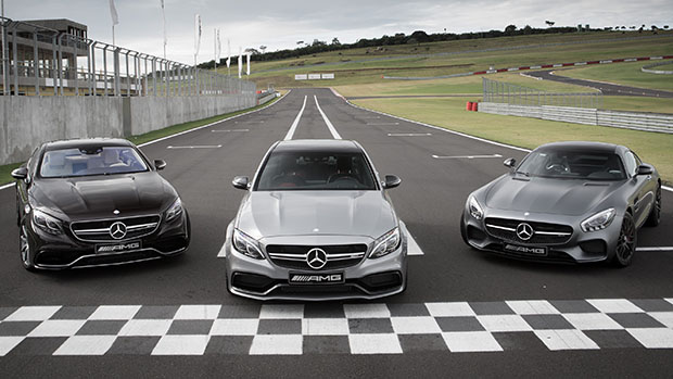 Aceleramos: AMG GT, Mercedes-Benz C63 S, CLA45 e A45 AMG – no Velo Città