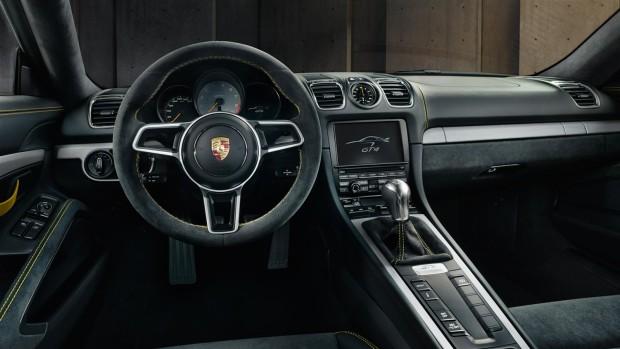 Porsche-Cayman-GT4-cambio