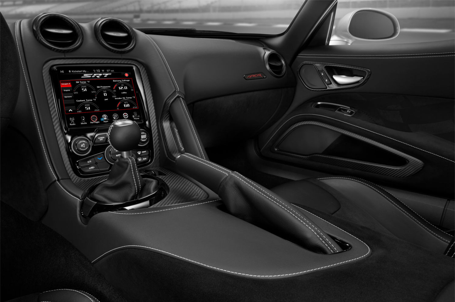 Dodge viper acr a sigla que conquistou o recorde de for All blacks interiors