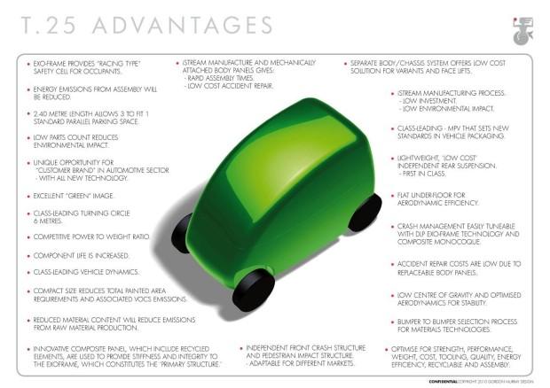 T25 Advantages