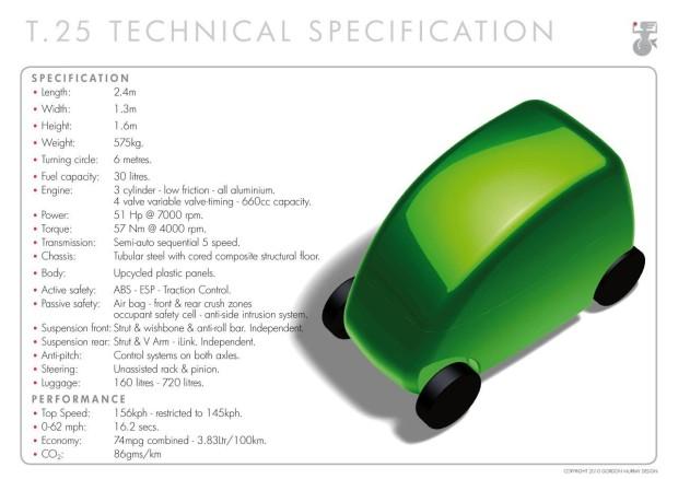 T25 Tech Spec