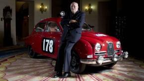 Adeus, Mr. Saab – morreu Erik Carlsson, que transformou a Saab em uma lenda dos ralis