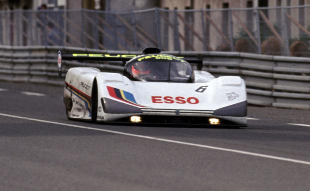 133 - 24 Heures du Mans 1991. Rosberg/ Dalmas/ Raphanel. Peugeot 905. Abandon