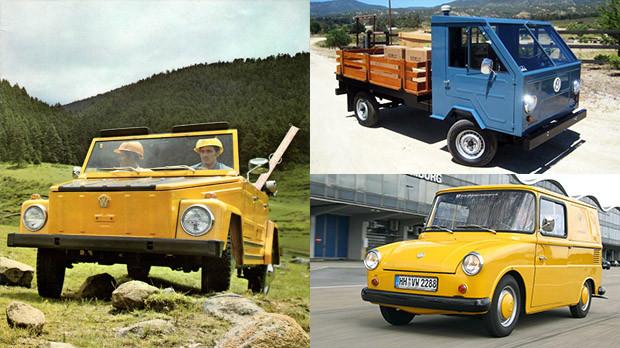 Os estranhos Volkswagen a ar que não tivemos no Brasil: Thing, Basistransporter e Fridolin