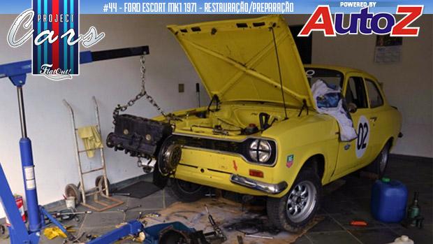 Project Cars #44: hora de montar o motor do meu Escort Mk1 1971 inspirado nos ralis