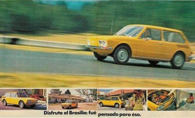 Propaganda mexicana da Brasilia