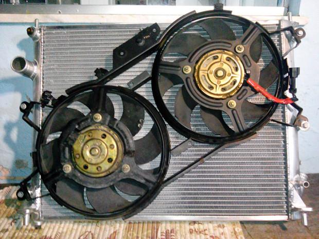 Radiador MasterCooler em Aluminio com eletro fans