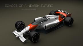 E se os carros de Fórmula 1 do futuro fossem assim?