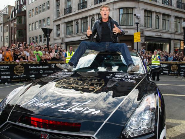 Gumball Rally 3000 080614 in London's Regent Street