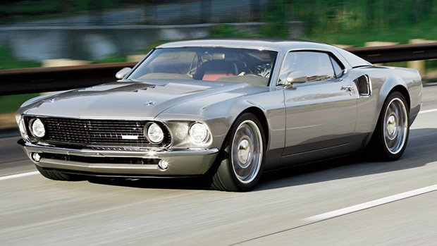 Ford Mustang 1969 >> Um Mustang 1969 com motor central-traseiro de Ford GT: conheça o Mach 40 - FlatOut!