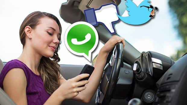 Resultado de imagem para motorista no transito vendo celular
