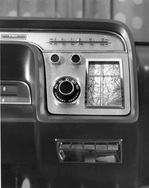 1964-Ford-Concept-Aurora-navigation-system