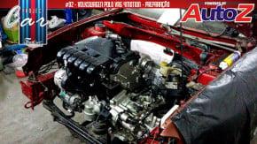 """Project Cars #92: a instalação do motor VR6 e o interior do meu Polo Classic """"4Motion"""""""