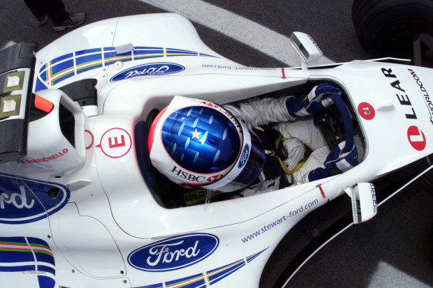 1999 Austrian Grand Prix A1 Ring, Austria, 24th - 26th July 1999. Rubens Barrichello - Stewart Ford. Photo: Lawrence/LAT Tel: +44 (0)181 251 3000 Fax: +44 (0)181 251 3001