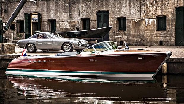 Riva Aquarama A Superlancha De 700 Cv Com Dois Motores